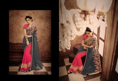 http://www.thatsend.com/ate/shopping/lp/fvp/TESG134784/i/TE176500/iu/gray-georgette-traditional-saree  Gray Georgette Traditional Saree Apparel Pattern Embroidered. Work Embroidery, Border Lace. Blouse Piece Yes. Occasion Festive, Diwali. Top Color Pink.