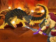 Fan Art// Legend of Zelda//  Digital Art //Fantasy Art //Gaming Art