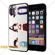 OnePiece Anime Cartoon Manga Cell Phone30 Iphone Case, For-You-Case Iphone 6+ Plus Silicone Case Cover NEW fashionable Unique Design