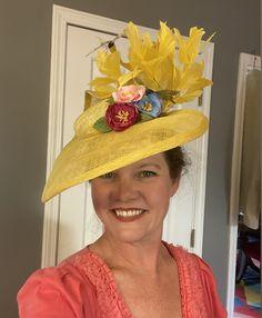 Fascinator, Headpiece, Michigan City Indiana, Kentucky Derby, Amanda, Hats, Handmade, Fashion, Moda