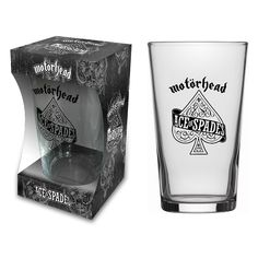 Motorhead - Ace Of Spades (Beer Glass)