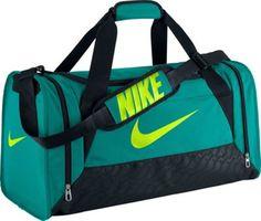 Nike Brasilia 6 Medium Duffel TURBO GREEN/BLACK/VOLT - via eBags.com!