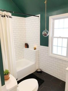 Diy Bathroom Remodel, Shower Remodel, Bathroom Renos, Bathroom Renovations, Bathroom Interior, Home Renovation, Bathroom Ideas, Rental Bathroom, Tub Remodel