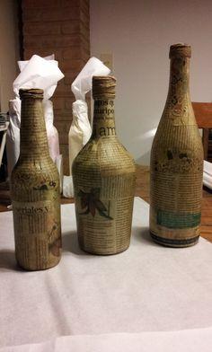 Botellas Intervenidas - Diseños a elección, en http://ofeliafeliz.com.ar