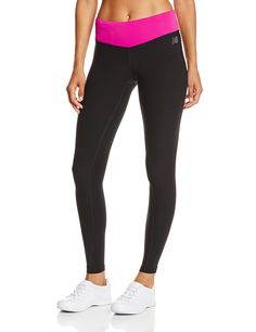 New Balance Women's Form Fitter Tight, Poisonberry, X-Small. NB Dry for wicking.