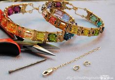 Free Jewelry Pattern: Adding Safety Chain