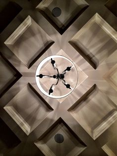 Custom coffered ceiling by Meridian Construction and David Weis.  #LouisvilleHomeBuilder #HomeBuildersLouisville #LouisvilleNewHomes #LouisvilleBuilders #Custom #HomeBuilderLouisville #LouisvilleCustomHomeBuilder #CustomHomeBuilder #CustomBuiltHomesLouisville #MeridianConstruction #NortonCommons #Homearama