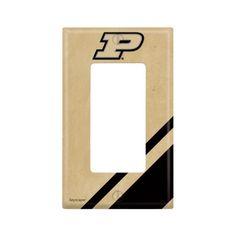 Purdue University Single Rocker Light Switch Cover