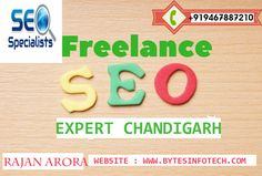 Looking for Professional SEO Company in Chandigarh? Bytesinfotech is Top digital marketing company offers best seo services and gives guaranteed SEO result with best ROI. contact us our expert : +919467887210 www.bytesinfotech.com