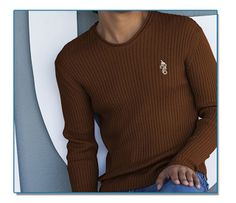 SeaHorse-Collection, men's ribbed V-neck sweater, 39,99€