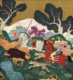 The Pearl of the Boar by Edmund Dulac