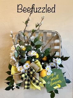 Check out our tobacco basket wreath selection for the very best in unique or custom, handmade pieces from our shops. Easter Wreaths, Fall Wreaths, Door Wreaths, Flower Wreaths, Burlap Wreaths, Grapevine Christmas, Christmas Wreaths, Tobacco Basket Decor, Candy Wreath
