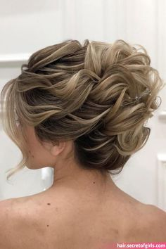 mother of the bride hairstyles high curly updo for medium hair zuhra_stylist styles recogido Mother Of The Bride Hairstyles: 63 Elegant Ideas Guide] Braided Hairstyles Updo, Hairstyles With Bangs, Wedding Hairstyles, 1980s Hairstyles, Hairstyles Videos, Natural Hairstyles, Curly Hair Styles, Medium Hair Styles, Hair Medium