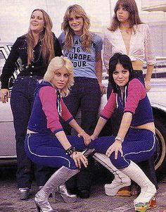 THE RUNAWAYS were an American all-girl rock band that recorded and performed in the second half of the 1970s. Description from womenofmetal.net. I searched for this on bing.com/images