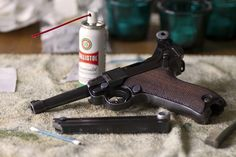Luger P08 Loading that magazine is a pain! Get your Magazine speedloader today! http://www.amazon.com/shops/raeind