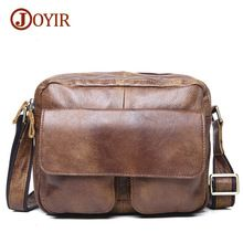 Joyir fashion genuine leather bags for men messenger bags high quality vintage male crossbody shoulder bags bags for men 183 //Price: $US $53.89 & FREE Shipping //     #hashtag1