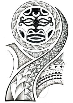 Polynesian 3/4 sleeve 02-A by dfmurcia on deviantART