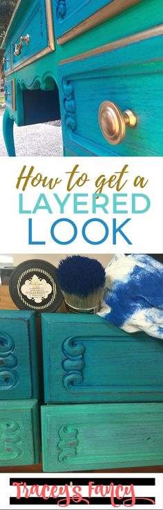 Pin it : Layered Paint Look in Peacock