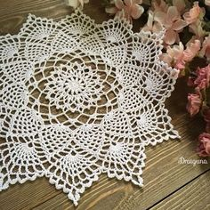 Crochet Edging This doily has 21 rounds. The finished size is in diameter. Tatting Patterns Free, Free Crochet Doily Patterns, Crochet Motif, Crochet Designs, Free Pattern, Crochet Dollies, Cotton Crochet, Thread Crochet, Crochet Gifts