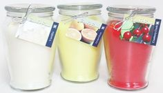 Hand Poured Scented Soy 16oz Jars Bathroom Candest