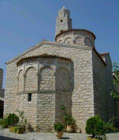 Church of Taxiarches - Areopoli Mani Laconia Greece  - Elaionas Studios Apartments Gytheio Greece -   Contact: Stavropoulos Evangelos -   Tel. +30-27330-21512 Mobile. +30-697-3788697 -   www.elaionas-studios.gr  info@elaionas-studios.gr