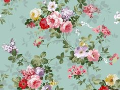 cath kidston wallpaper. Super love this style ❀