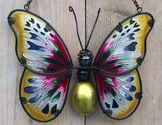 Raamdecoratie vlinder.