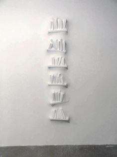 Loris Cecchini . Gaps (book III), 2007