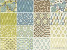 "Ibiza 10"" Squares - Rosemarie Lavin - Windham Fabrics"