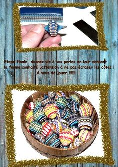 Polymer Clay: how to make beautiful Circus Beads