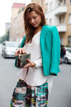 like the colours in this outfit.