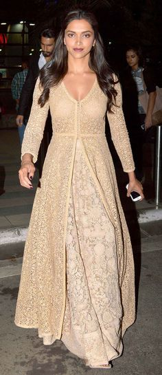 In Sabyasachi ...Love the long duster...crochet inspiration ONLY...