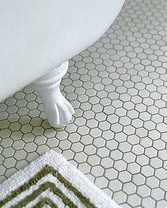 Hexagon White Tile