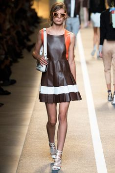 Fendi Spring 2015 Ready-to-Wear Fashion Show - Kat Hessen
