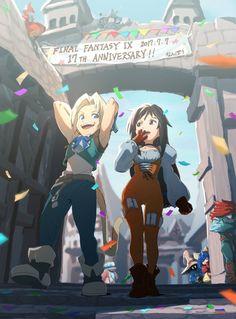 Final Fantasy 9 anniversary