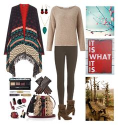 """""""It is what it is"""" by nancyh4745 ❤ liked on Polyvore featuring WearAll, Balenciaga, John Lewis, Vince Camuto, Rachel Reinhardt, NARS Cosmetics, tarte, Tamara Mellon, women's clothing and women's fashion"""