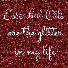 Some girls love glitter I love essential oils!