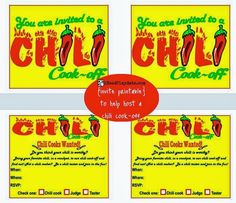 Honor the winner of a chili cookoff with this printable for Chili cook off award certificate template