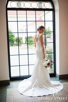 Lace wedding dress. Photo by GSPV