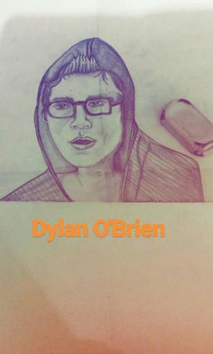 My new portrait of Dylan O'Brien #sketch #tvseries #teenwolf #pencildrawing #dylanobrien #portrait #theinternship #drawing
