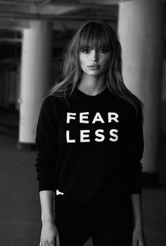 // fear less sweatshirt