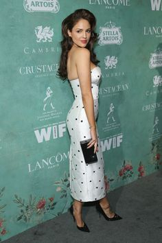 Eiza Gonzalez attends the annual celebration of the 2018 female Oscar nominees presented by Women in Film at Crustacean on March 2018 in Beverly Hills, California. Girl Photo Poses, Girl Photos, Dita Von Teese Style, Spy Girl, Modern Photography, Beautiful Girl Image, Red Carpet Dresses, Celebs, Celebrities