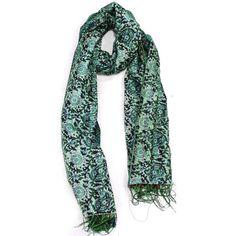 #Turquoise Scarf.  Scarves #2dayslook #Scarves #kelly751#sasssjane #sunayildirim  www.2dayslook.com
