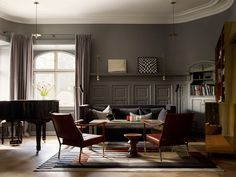 Ett Hem Hotel Stockholm by Studio Ilse. Nomad floor lamp by Niclas Hoflin, Rubn.