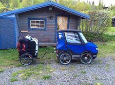 Un bicicleta, ¡que parece un auto! -PodRide