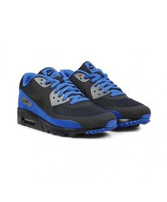 439a5f67d265 Nike Air Max 90 Ultra Essential Dark Obsidian Black Blue Shoes Sale