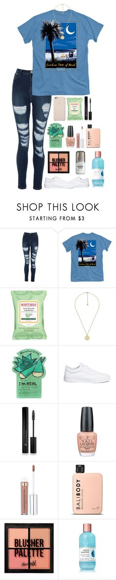 """""""Hungry """" by kindaval ❤ liked on Polyvore featuring Burt's Bees, Gucci, TONYMOLY, Vans, Forever 21, OPI and Barry M"""
