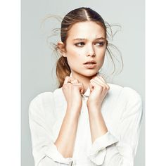 HARBOR magazine WEISS editorial ❤ liked on Polyvore featuring models, backgrounds, pictures, people and faces