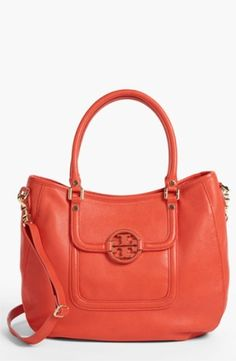 Tory Burch Amanda - Angelux Leather Hobo $485.0 by nordstrom