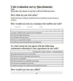 Free Questionnaire Template Word Awesome Geraldyn Ageraldynpagsac On Pinterest